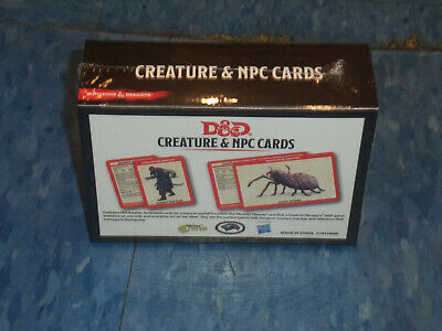 AU40.75 • Buy Dungeons & Dragons D And D 5th Edition 5E Spell Spellbook Cards Creature NPC