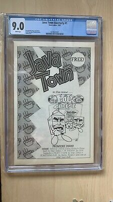 $130 • Buy Java Town Quartery 1 Early Appearance Of Milk And Cheese ONLY ONE GRADED VHTF
