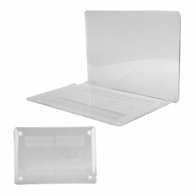$17.52 • Buy Transparent Laptop Protective Cover Silicone TopBottom Case For Macbook Pro Air