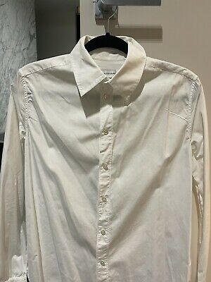 AU80 • Buy Scanlan Theodore, Classic Style Tailored White Shirt, 100% Cotton, Size 6