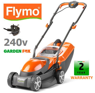 £105.97 • Buy New Flymo Chevron 32VC Mains Corded 240V Electric Lawnmower 7391736975506 .