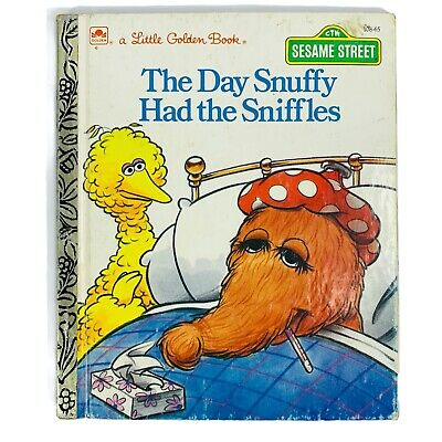 £8.77 • Buy The Day Snuffy Had The Sniffles Little Golden Book Hardcover 1988