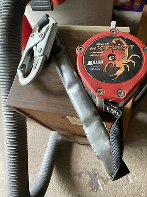 $50 • Buy Miller Scorpion Personal Fall Limiter Used PFL-2-Z7-9 Ft.