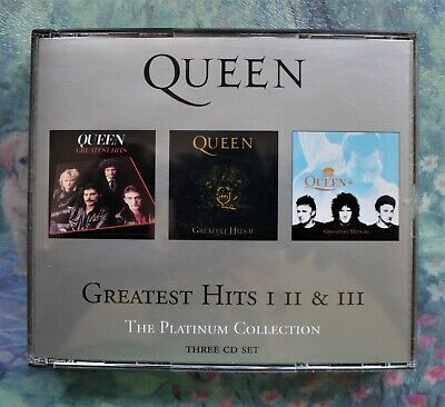 £6.99 • Buy Queen The Platinum Collection (2000) 3 CD + Booklet In Fatbox