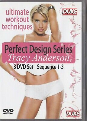 £18.53 • Buy Tracy Anderson - Perfect Design Series - DVD (3 X DVD All Regions PAL)