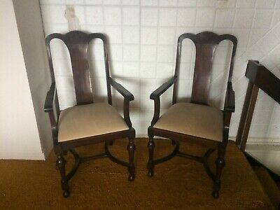 AU120 • Buy Edwardian Carver Wooden Chairs