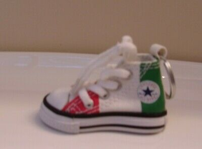 $18 • Buy Converse Chuck Taylor All Star High Top Shoe Key Ring MULTI-COLOR New!