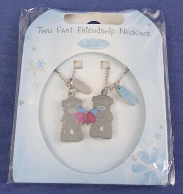£9.99 • Buy Me To You 2 Part Friendship Necklace & Chain