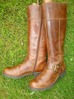 £29.30 • Buy    CLARKS Ladies Brown Tan Boots LEATHER Boots UK Size 5 Ex Cond