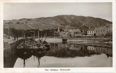 £8 • Buy Real Photographic Postcard Of The Harbour, Helmsdale, Sutherland, Scotland