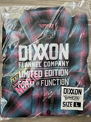 """$89.99 • Buy DIXXON FLANNEL CO  Shreddy"""" 3.0 Size Large L SOLD OUT! New In Bag!"""