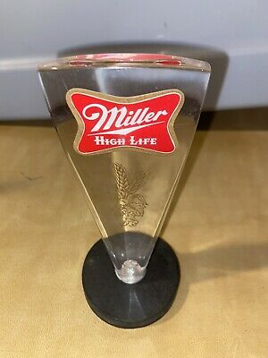$20 • Buy Miller High Life Beer Tap Handle - Acrylic/Lucite - Vintage