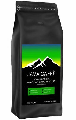 £9.99 • Buy Java Caffe Brazilian Smooth Roast Coffee Beans (1kg) FREE DELIVERY, HAND ROASTED