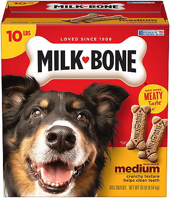 $14.56 • Buy Milk-Bone Original Dog Treats Biscuits For Medium Dogs, 10 Pounds Packaging May