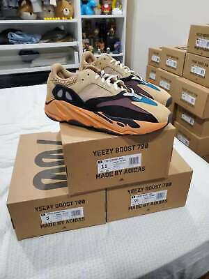 $ CDN374.48 • Buy Adidas Yeezy Boost 700 Enflame Amber GW0297 Authentic Deadstock NEW IN HAND