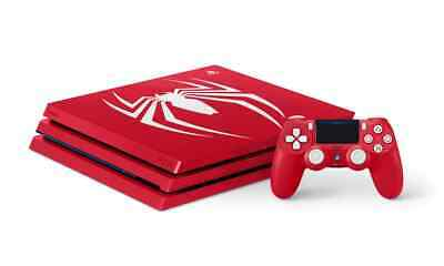 AU698 • Buy Sony PS4 Pro Console 1TB Spider Man