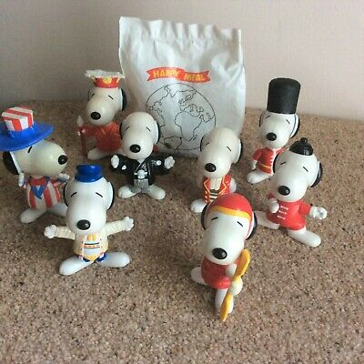 £3.25 • Buy 9 X McDonalds Snoopy World Tour 1999 - All Different