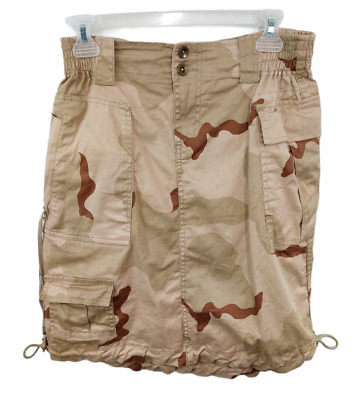 $19.99 • Buy Rothco Desert Camo Knee Length Skirt Camouflage Military Tactical Outdoor Size M