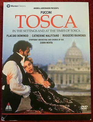 £6.99 • Buy Puccini TOSCA In The Settings And At The Times Of Tosca DVD Placido Domingo