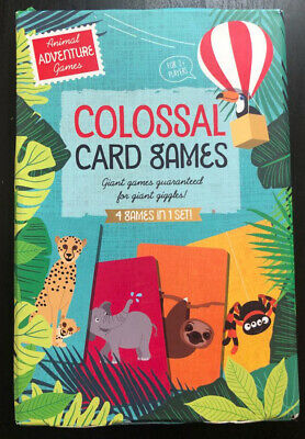 £6.50 • Buy Colossal Card Games- Summer Garden Party Games- Animal Adventure Games