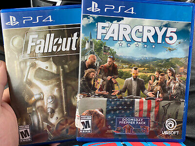 AU27.16 • Buy Lot Of 2 Playstation 4 Games Fallout 4 Farcry5 Ps4