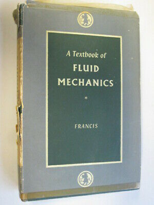 £4.10 • Buy Acceptable - A Textbook Of Fluid Mechanics For Engineering Students (2nd Ed.) -