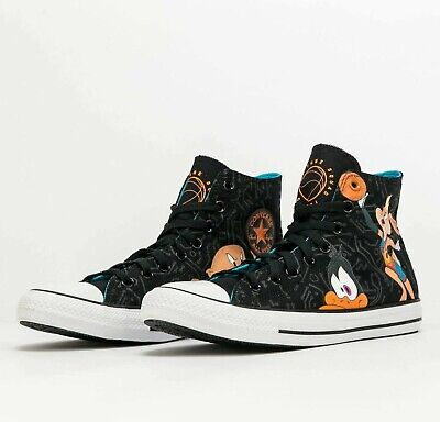 $134.99 • Buy Converse Chuck Taylor All Star X Space Jam 172485C Black Spacejam Shoes Sneakers