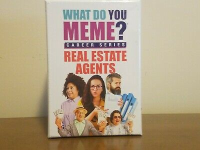 AU25.80 • Buy What Do You Meme? Career Series Real Estate Agents Realtor Edition * NEW Sealed