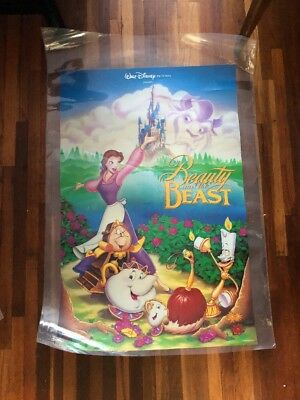 £39.62 • Buy Vintage Beauty And The Beast Poster Disney Princess  , O.s.p. Publisher