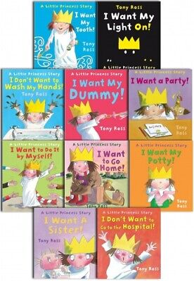 £14.75 • Buy A Little Princess Story Collection X 10 - Tony Ross Kids Books - Paperback