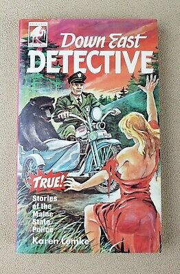 $99.99 • Buy Down East Detective True Stories Of The Maine State Police Book By Lemke 1987