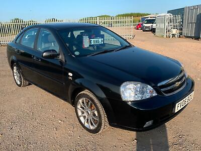 £1299 • Buy 2006 Chevrolet Lacetti 1.8 CDX 4dr SALOON Petrol Manual