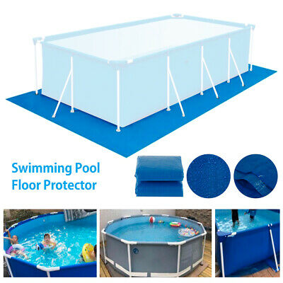 £16.59 • Buy Outdoor Swimming Pool Floor Protector Mat Paddling Mats Ground Cloth Sheet Cover