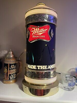 $152.50 • Buy 1984 Miller High Life Beer Motion Bouncing Ball Rotating Light Sconce Sign 15.5