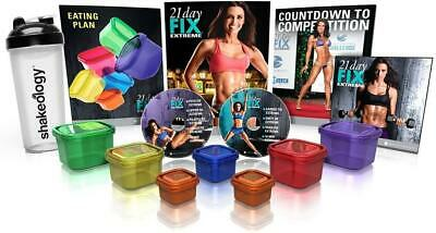 £35.55 • Buy Beachbody 21 Day Fix Extreme Essential Package + Shakeology Bottle FAST SHIP J30