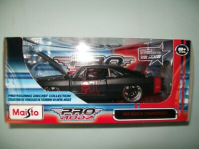 $49.99 • Buy Rare 1969 Dodge Charger R/T Skull General Lee Diecast Car 1:24 Maisto Pro Rodz