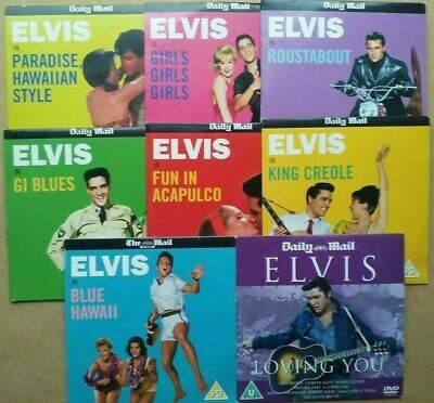 £14.99 • Buy Promo DVD - Elvis Presley Musical Films Collection - Set Of 8 Full Length Movies