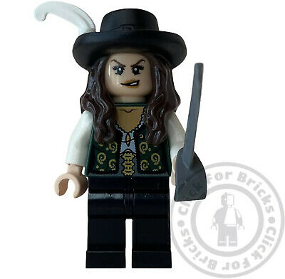 £17.99 • Buy LEGO Genuine Pirates Of The Caribbean Angelica Minifigure From 4195 - Poc006 New