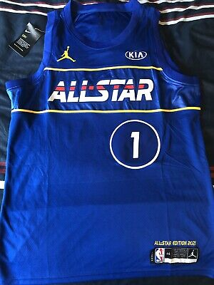 $179.99 • Buy Nike Zion Williamson 2021 NBA ALL STAR Jersey New Orleans Pelican Size Men's-M