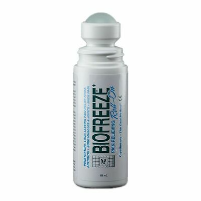 £43.95 • Buy Biofreeze Pain Relief Gel Cold Therapy Roll On - 4 X 89ml