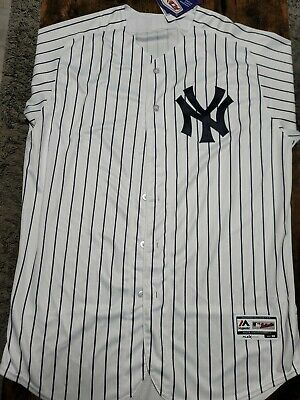 $129 • Buy Majestic Authentic Flex Base New York Yankees Aaron Judge Home Jersey - Size 48