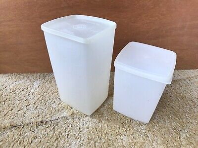 £4.99 • Buy Genuine Collectible Vintage 1960s Tupperware Containers - 2 Cracker Boxes
