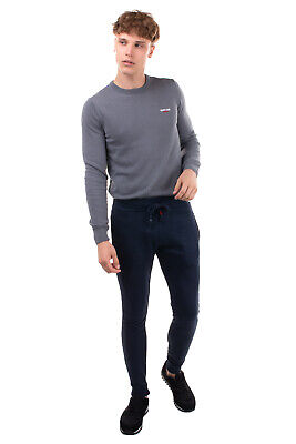 $15.12 • Buy RRP €115 BOB Sweat Trousers Size S Embroidered Drawstring Cuffed Made In Italy