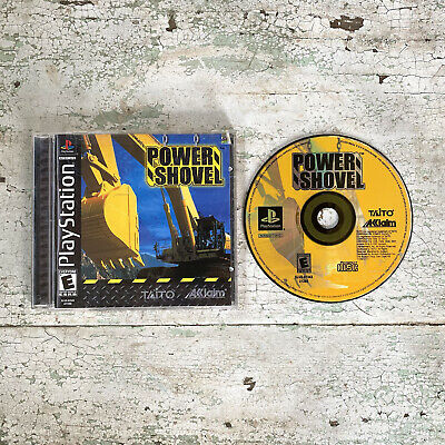 £28.35 • Buy Power Shovel (Sony PlayStation 1) PS1 Complete With Registration Card Tested