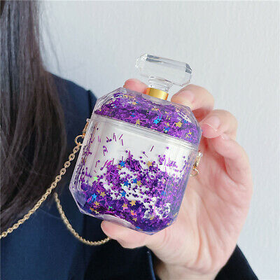 $ CDN18.63 • Buy Airpods Protect Case Glitter Quicksand Perfume Bottle For Airpods Earphone Cover