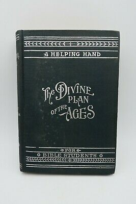 $50 • Buy 1902 The DIVINE PLAN Of The AGES Watchtower MILLENNIAL DAWN Jehovah IBSA Russell
