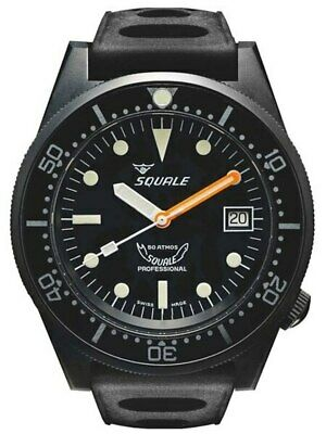 $ CDN1117.86 • Buy Squale 500m Professional Swiss Automatic Dive Watch 1521-026PVD NEW