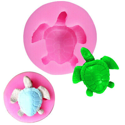 £2.95 • Buy 3D Turtle Silicone Cake Mold Fondant Sugarcraft Chocolate Bake Topper Soap Mould