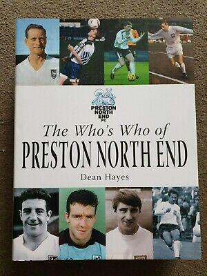 £30 • Buy The Who's Who Of Preston North End, 2006 1st Ed