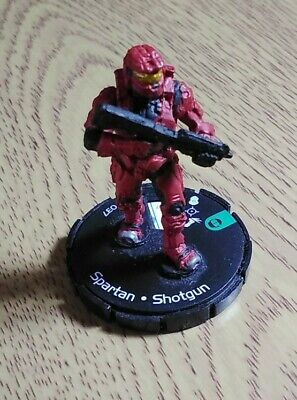 £1 • Buy Halo Actionclix Red Spartan With Shotgun